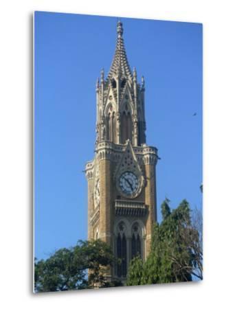 University Clock Tower, Mumbai, India-Ken Gillham-Metal Print