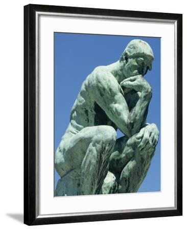 Thinker, by Rodin, Musee Rodin, Paris, France, Europe-Ken Gillham-Framed Photographic Print