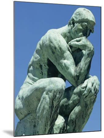 Thinker, by Rodin, Musee Rodin, Paris, France, Europe-Ken Gillham-Mounted Photographic Print