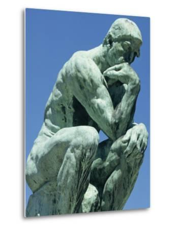 Thinker, by Rodin, Musee Rodin, Paris, France, Europe-Ken Gillham-Metal Print