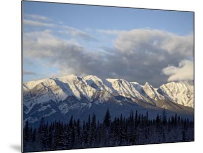 Bosche Range in Winter, Jasper National Park, Rocky Mountains, Alberta, Canada-James Hager-Mounted Photographic Print