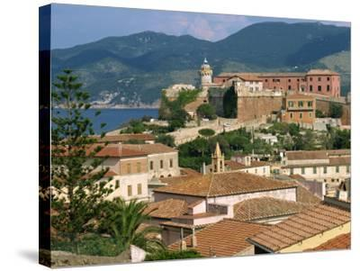 Skyline of the Town on the Island of Elba, in the Toscana Archipelago, Italy, Europe-Ken Gillham-Stretched Canvas Print
