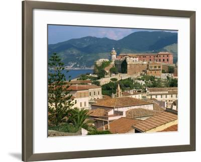 Skyline of the Town on the Island of Elba, in the Toscana Archipelago, Italy, Europe-Ken Gillham-Framed Photographic Print