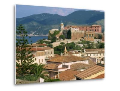 Skyline of the Town on the Island of Elba, in the Toscana Archipelago, Italy, Europe-Ken Gillham-Metal Print