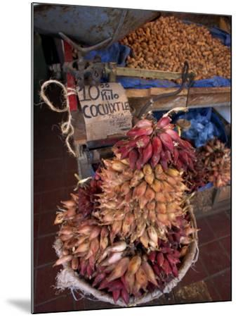 Tequila Fruit for Sale on a Stall in Mexico, North America-Michelle Garrett-Mounted Photographic Print