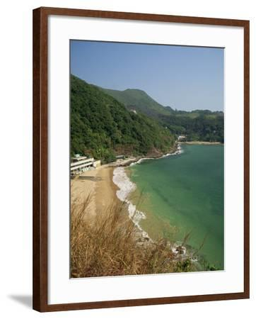 Coastline and Beach at Clearwater Bay in the New Territories, Hong Kong, China Asia-Fraser Hall-Framed Photographic Print