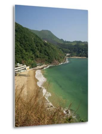 Coastline and Beach at Clearwater Bay in the New Territories, Hong Kong, China Asia-Fraser Hall-Metal Print