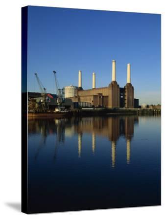 Battersea Power Station, London, England, United Kingdom, Europe-Tim Hall-Stretched Canvas Print