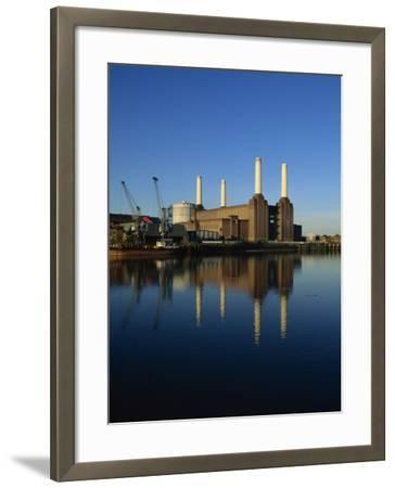 Battersea Power Station, London, England, United Kingdom, Europe-Tim Hall-Framed Photographic Print