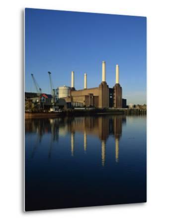 Battersea Power Station, London, England, United Kingdom, Europe-Tim Hall-Metal Print