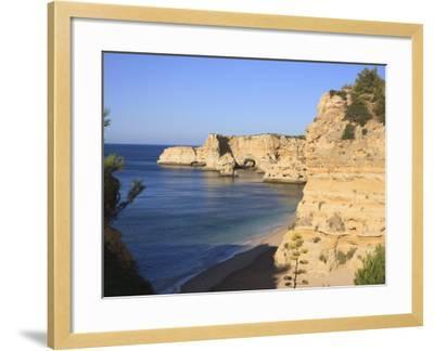 Praia Da Marinha, Algarve, Portugal, Europe-Amanda Hall-Framed Photographic Print