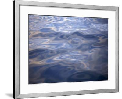 Clouds Reflected in Calm Water, Arctic, Polar Regions-Dominic Harcourt-webster-Framed Photographic Print