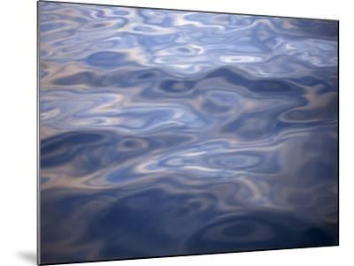 Clouds Reflected in Calm Water, Arctic, Polar Regions-Dominic Harcourt-webster-Mounted Photographic Print