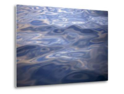Clouds Reflected in Calm Water, Arctic, Polar Regions-Dominic Harcourt-webster-Metal Print