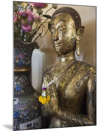 Buddha at Sukhothai Traimit Temple, Bangkok, Thailand, Southeast Asia-Robert Harding-Mounted Photographic Print