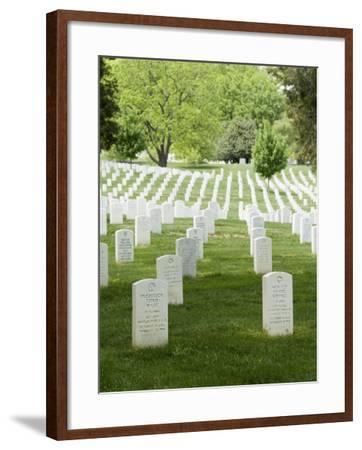 Arlington National Cemetery, Arlington, Virginia, United States of America, North America-Robert Harding-Framed Photographic Print