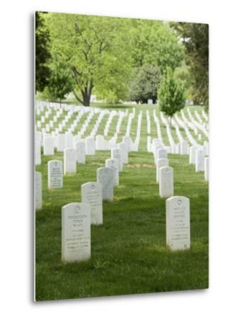 Arlington National Cemetery, Arlington, Virginia, United States of America, North America-Robert Harding-Metal Print
