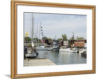 Spa Creek, Annapolis, Maryland, United States of America, North America-Robert Harding-Framed Photographic Print