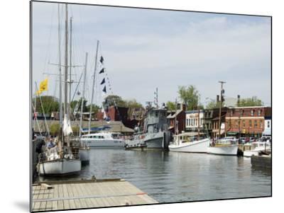 Spa Creek, Annapolis, Maryland, United States of America, North America-Robert Harding-Mounted Photographic Print