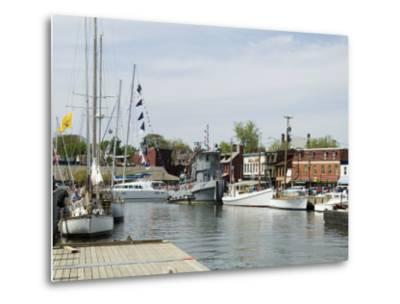 Spa Creek, Annapolis, Maryland, United States of America, North America-Robert Harding-Metal Print