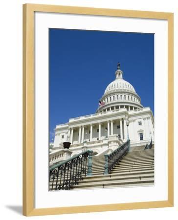 U.S. Capitol Building, Washington D.C., USA-Robert Harding-Framed Photographic Print