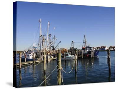 Montauk Harbour, Montauk, Long Island, New York State, United States of America, North America-Robert Harding-Stretched Canvas Print