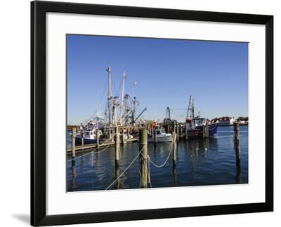 Montauk Harbour, Montauk, Long Island, New York State, United States of America, North America-Robert Harding-Framed Photographic Print