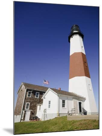 Montauk Point Lighthouse, Montauk, Long Island, New York State, USA-Robert Harding-Mounted Photographic Print