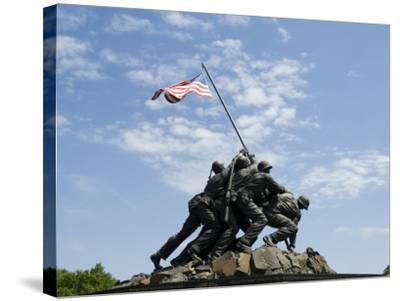 Iwo Jima Memorial, Arlington, Virginia, United States of America, North America-Robert Harding-Stretched Canvas Print