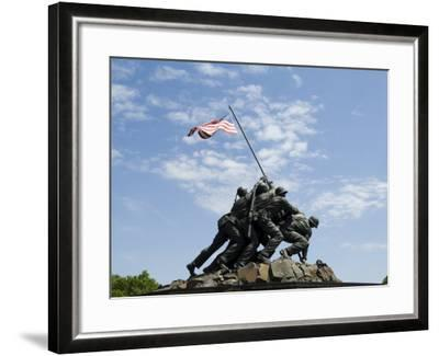 Iwo Jima Memorial, Arlington, Virginia, United States of America, North America-Robert Harding-Framed Photographic Print