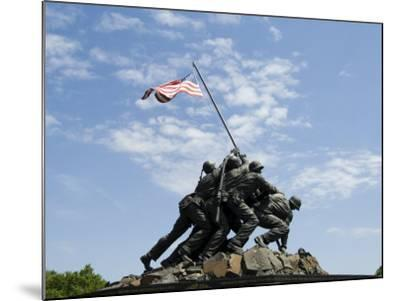 Iwo Jima Memorial, Arlington, Virginia, United States of America, North America-Robert Harding-Mounted Photographic Print