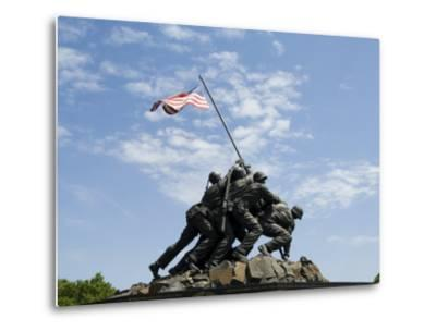 Iwo Jima Memorial, Arlington, Virginia, United States of America, North America-Robert Harding-Metal Print