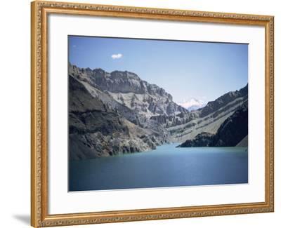 Karaj Dam Lake, Iran, Middle East-Robert Harding-Framed Photographic Print