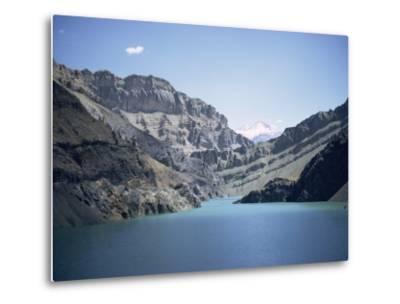 Karaj Dam Lake, Iran, Middle East-Robert Harding-Metal Print
