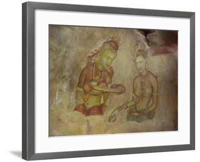 Cloud Maidens, Sigiriya, Sri Lanka-Harding Robert-Framed Photographic Print