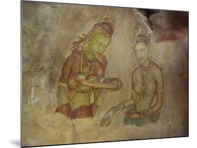 Cloud Maidens, Sigiriya, Sri Lanka-Harding Robert-Mounted Photographic Print