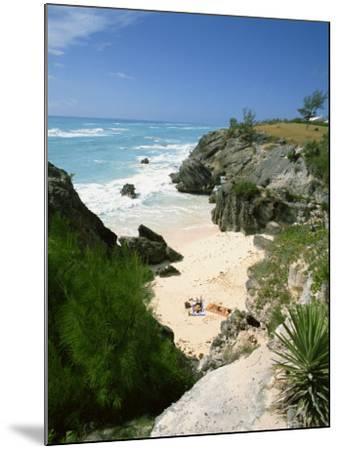 South Coast Beach, Bermuda, Central America, Mid Atlantic-Harding Robert-Mounted Photographic Print