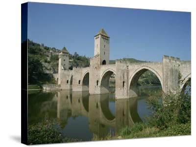 Cahors, in the Dordogne Lot Valley, Midi Pyrenees, France-Harding Robert-Stretched Canvas Print