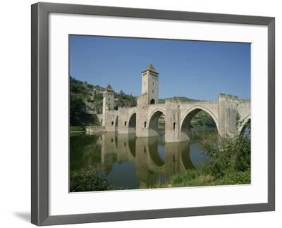 Cahors, in the Dordogne Lot Valley, Midi Pyrenees, France-Harding Robert-Framed Photographic Print