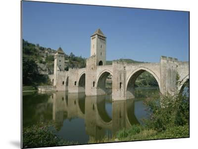 Cahors, in the Dordogne Lot Valley, Midi Pyrenees, France-Harding Robert-Mounted Photographic Print