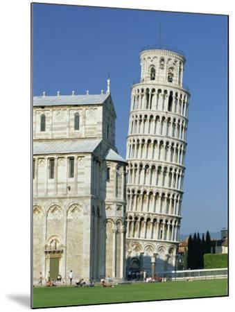 Duomo and the Leaning Tower in the Campo Dei Miracoli, Pisa, Tuscany, Italy-Gavin Hellier-Mounted Photographic Print