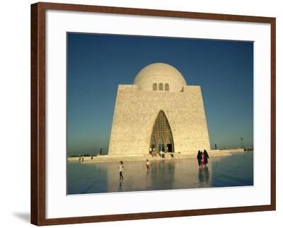 Tomb of Mohammed Ali Jinnah in Karachi, Pakistan-Harding Robert-Framed Photographic Print