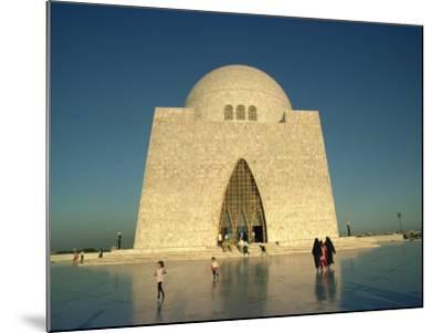 Tomb of Mohammed Ali Jinnah in Karachi, Pakistan-Harding Robert-Mounted Photographic Print