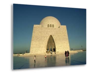 Tomb of Mohammed Ali Jinnah in Karachi, Pakistan-Harding Robert-Metal Print
