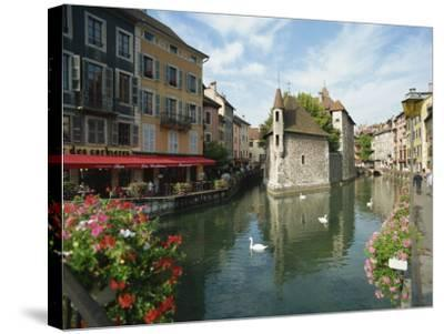 Annecy, Rhone Alpes, France, Europe-Harding Robert-Stretched Canvas Print