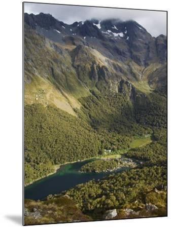Lake Mackenzie on the Routeburn Track, Fiordland National Park, South Island, New Zealand-Kober Christian-Mounted Photographic Print