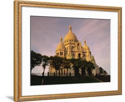 Sacre Coeur, Montmartre, Paris, France, Europe-David Hughes-Framed Photographic Print