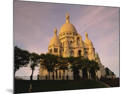 Sacre Coeur, Montmartre, Paris, France, Europe-David Hughes-Mounted Photographic Print