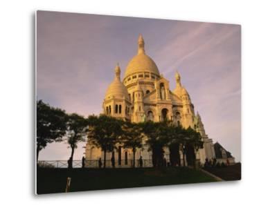 Sacre Coeur, Montmartre, Paris, France, Europe-David Hughes-Metal Print