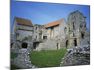 Priors Chapel and Tower from Cloister, Castle Acre Priory, Norfolk, England, United Kingdom, Europe-Hunter David-Mounted Photographic Print